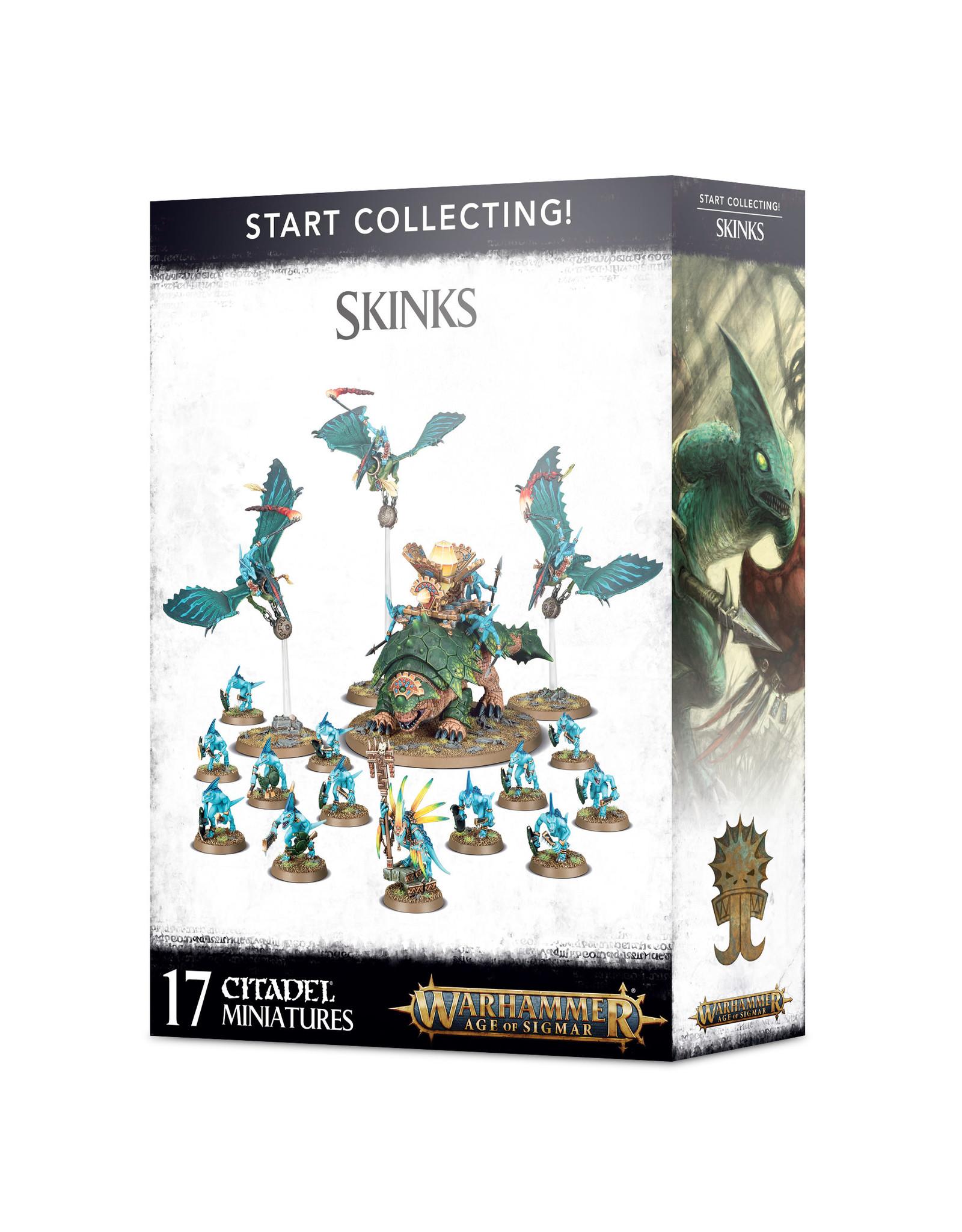 Games-Workshop START COLLECTING! SKINKS