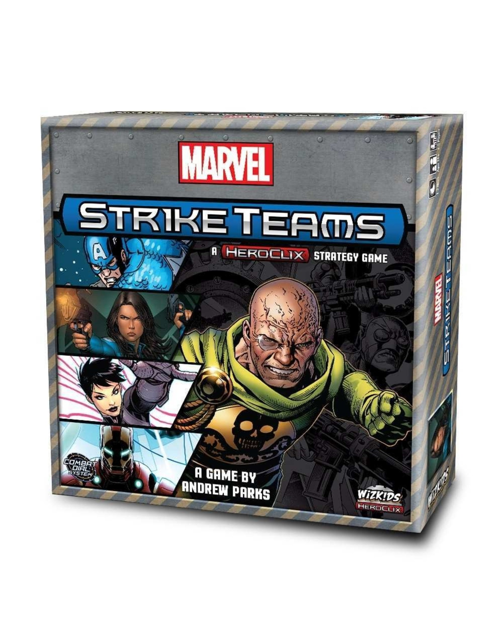 Marvel Strike Team Strategy Game Board Game