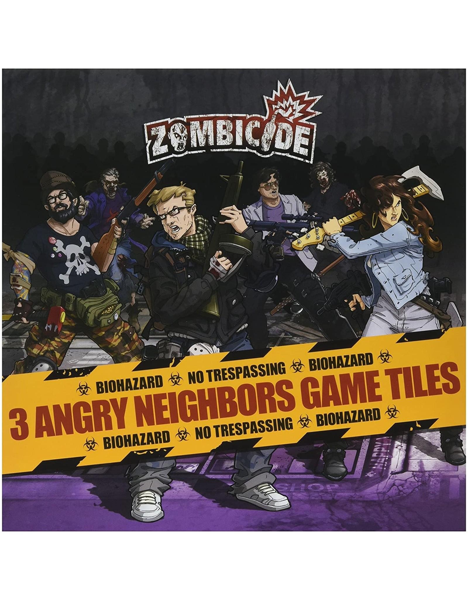 Zombicide Angry Neighbors 3 Game Tiles
