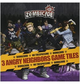 Zombicide Angry Neighbors 3 Game Tiles