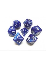 Dice Set  - Pearl  (Blue)