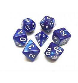 Dice Set - Pearl (Blue)