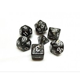 Dice Set - Pearl (Black)