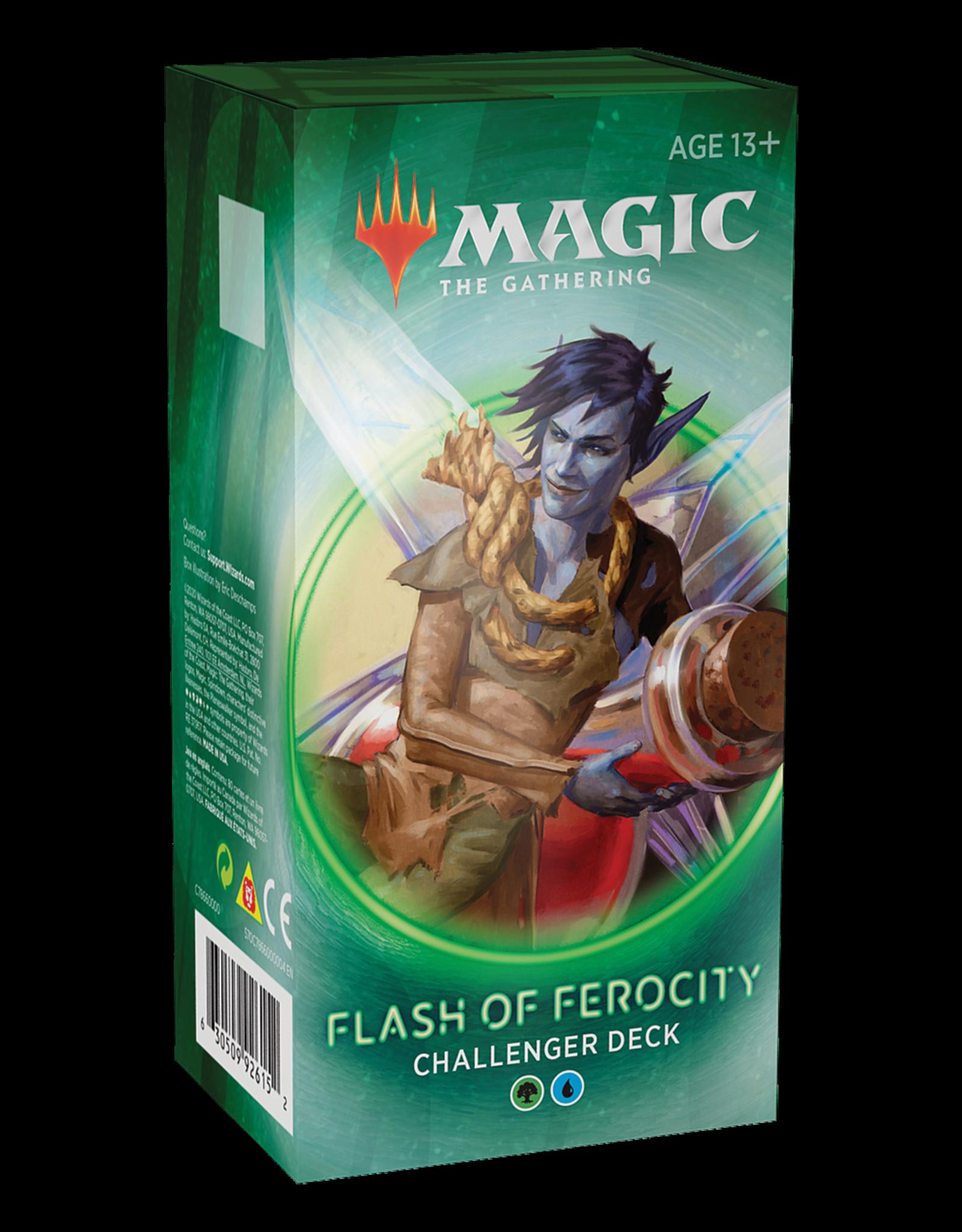 Wizards of the Coast MTG Challenger Deck 2020 Flash of Ferocity