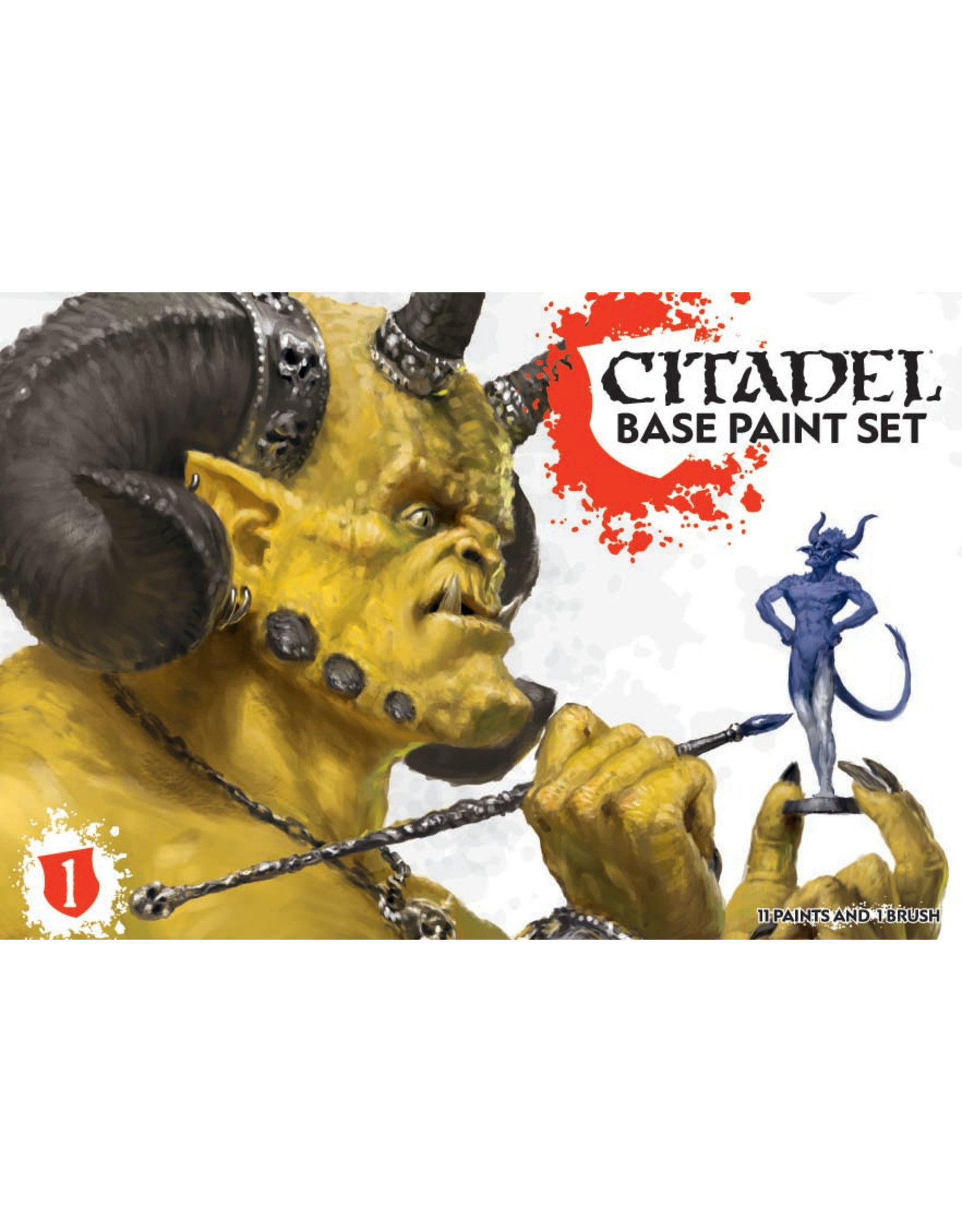 Games-Workshop CITADEL BASE PAINT SET