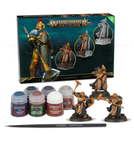 Games-Workshop STORMCAST ETERNALS + PAINT SET (SEQUITORS)