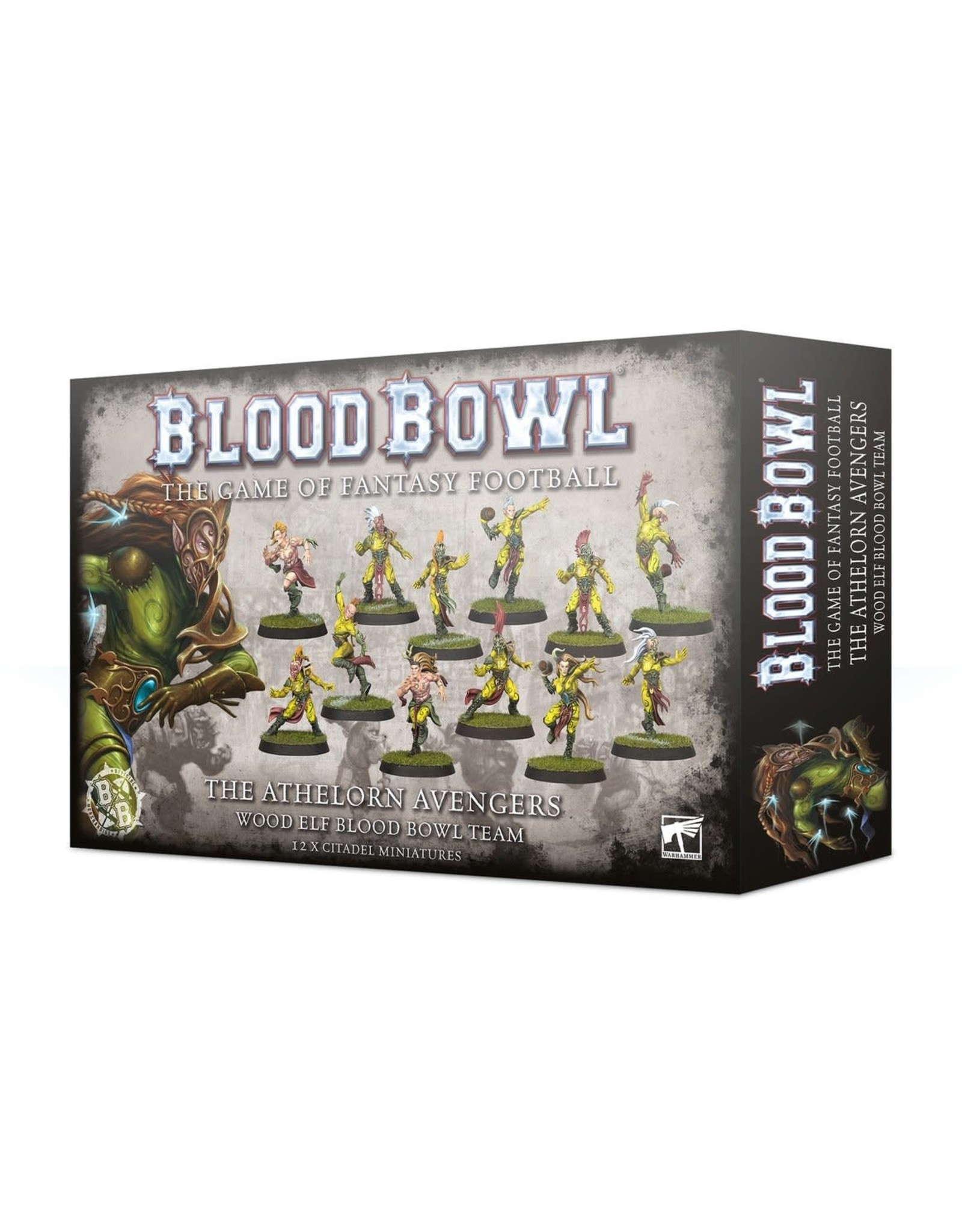 Games-Workshop BLOOD BOWL: THE ATHELORN  AVENGERS