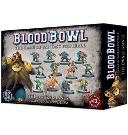 Games-Workshop Blood Bowl: Dwarf Giants Team