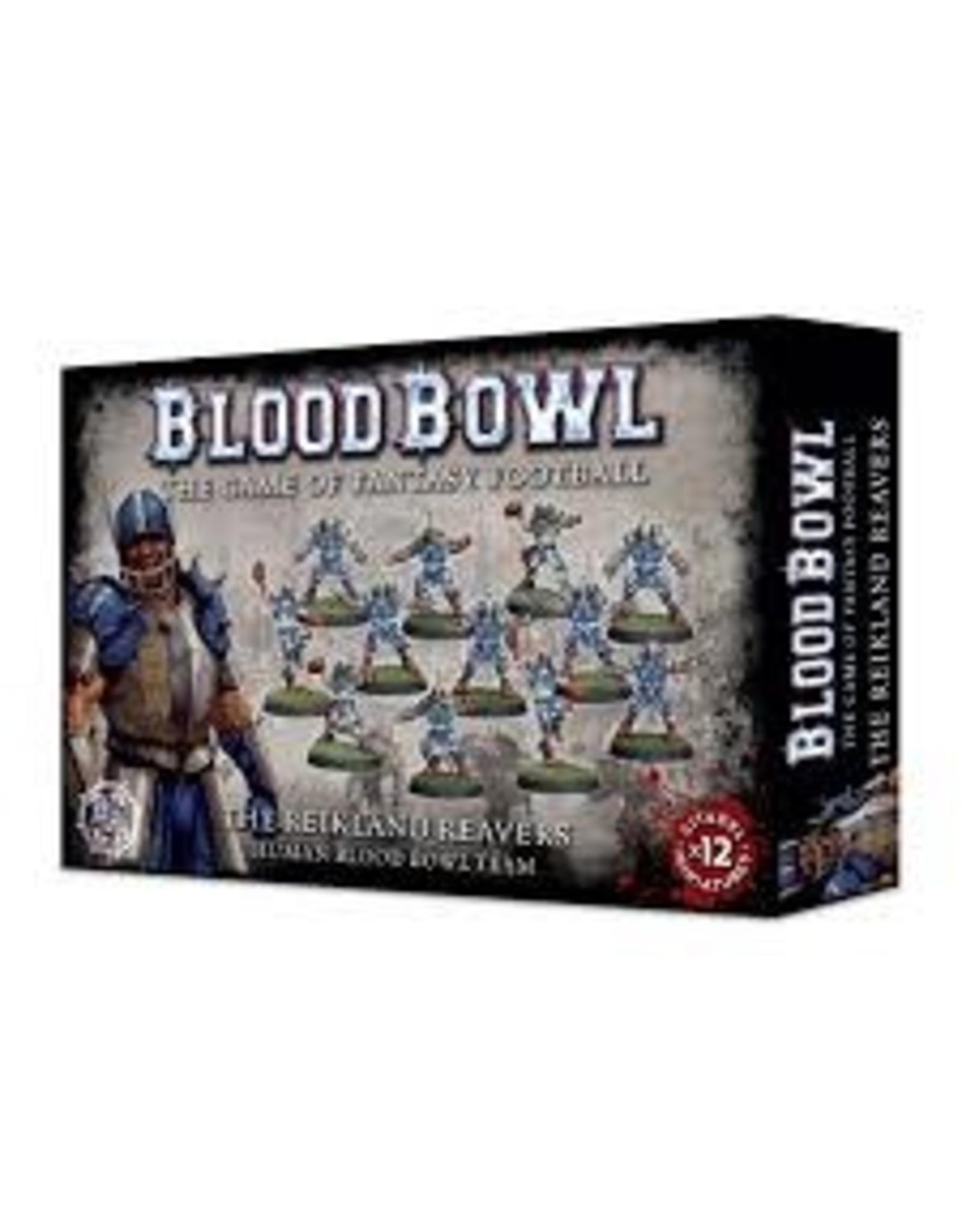Games-Workshop Blood Bowl: THE REIKLAND REAVERS BLOOD BOWL TEAM