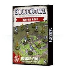 Games-Workshop Blood Bowl: Wood Elves Pitch & Dugouts