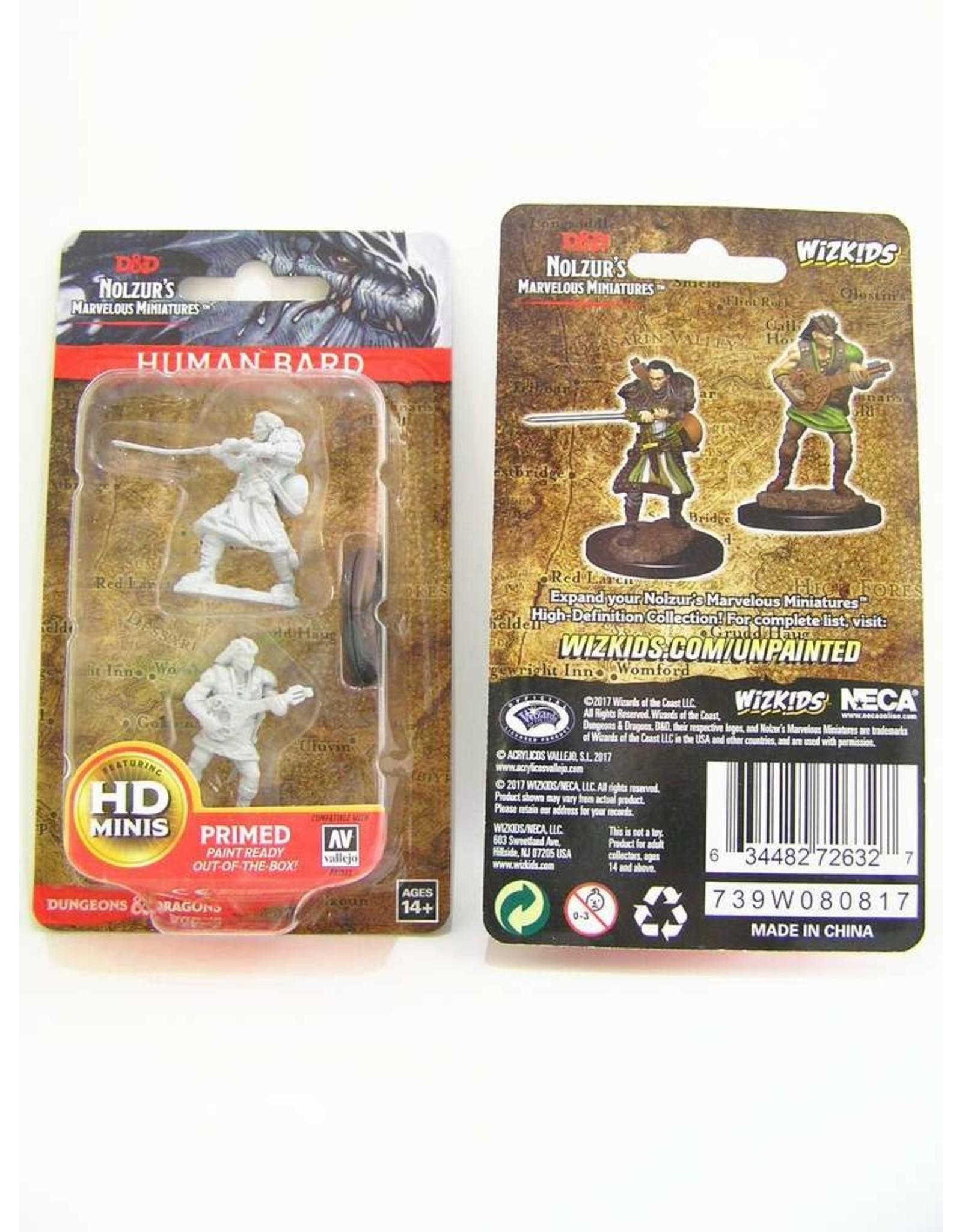Wiz-Kids D&D Nolzur's Marvelous Miniatures: Human Male Bard