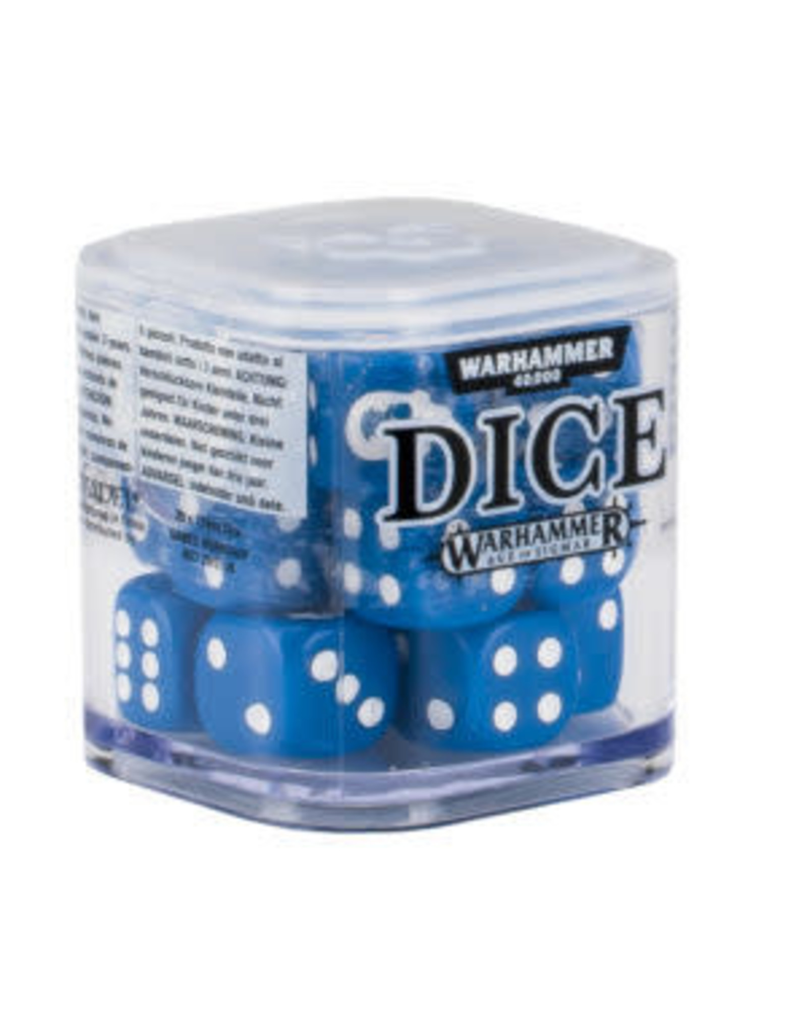 Games-Workshop CITADEL 12mm DICE CUBE / SET