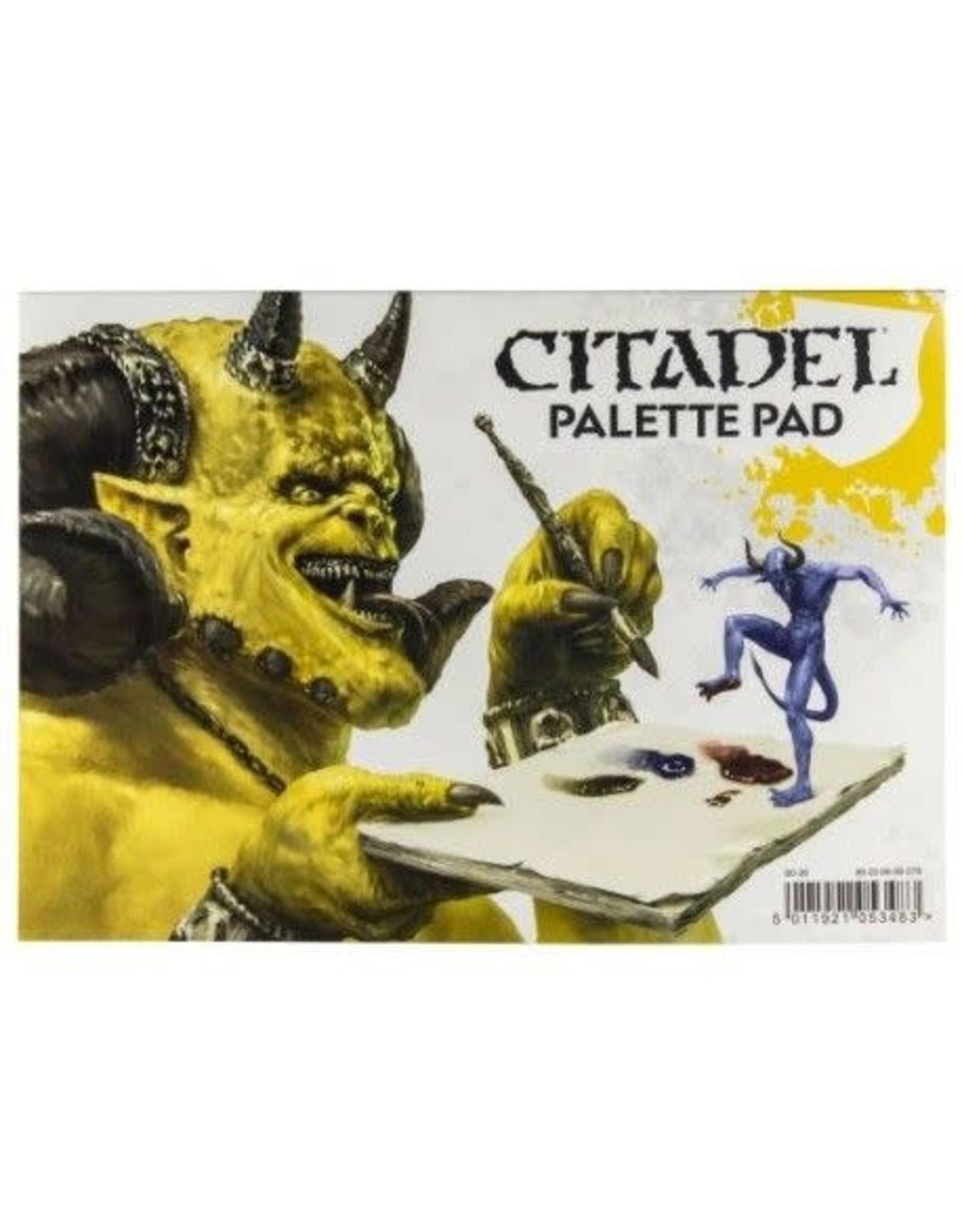 Games-Workshop CITADEL PALETTE PAD