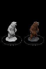 Wiz-Kids Wizkids unpainted Miniatures - Grizzly