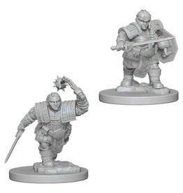 D&D Nolzur's Marv Unpainted Minis: Dwarf Female Fighter