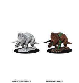 Wiz-Kids D&D Nolzur's Marv Unpainted Minis: Triceratops