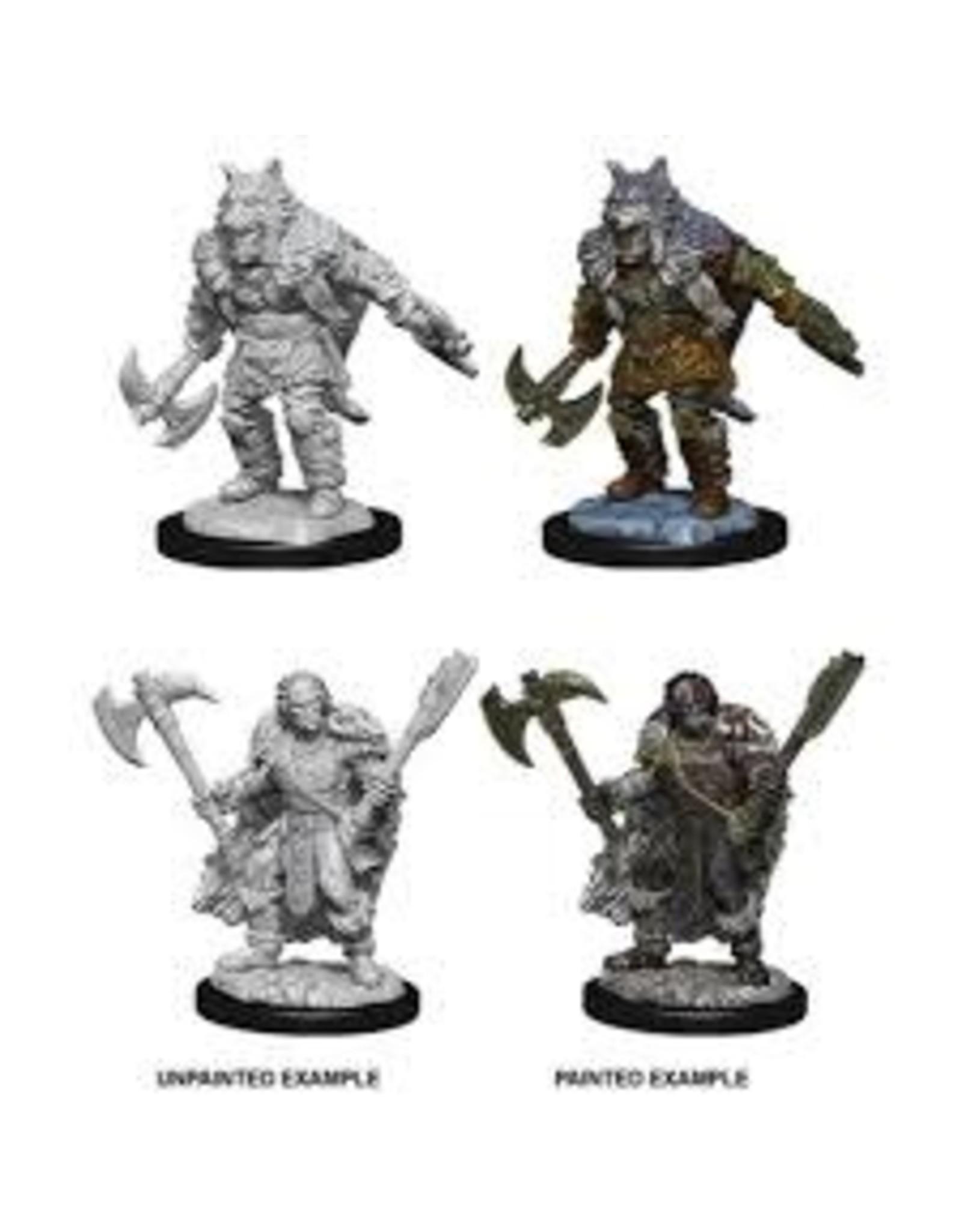 Wiz-Kids D&D Nolzur's Marvelous Miniatures - Male Half-Orc Barbarian