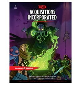 Wiz-Kids D&D Acquisitions Incorporated Book