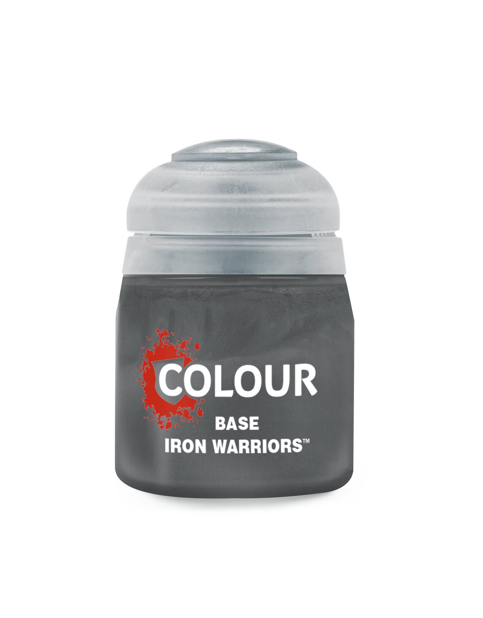 Citadel Paints BASE: IRON WARRIORS (12ML)