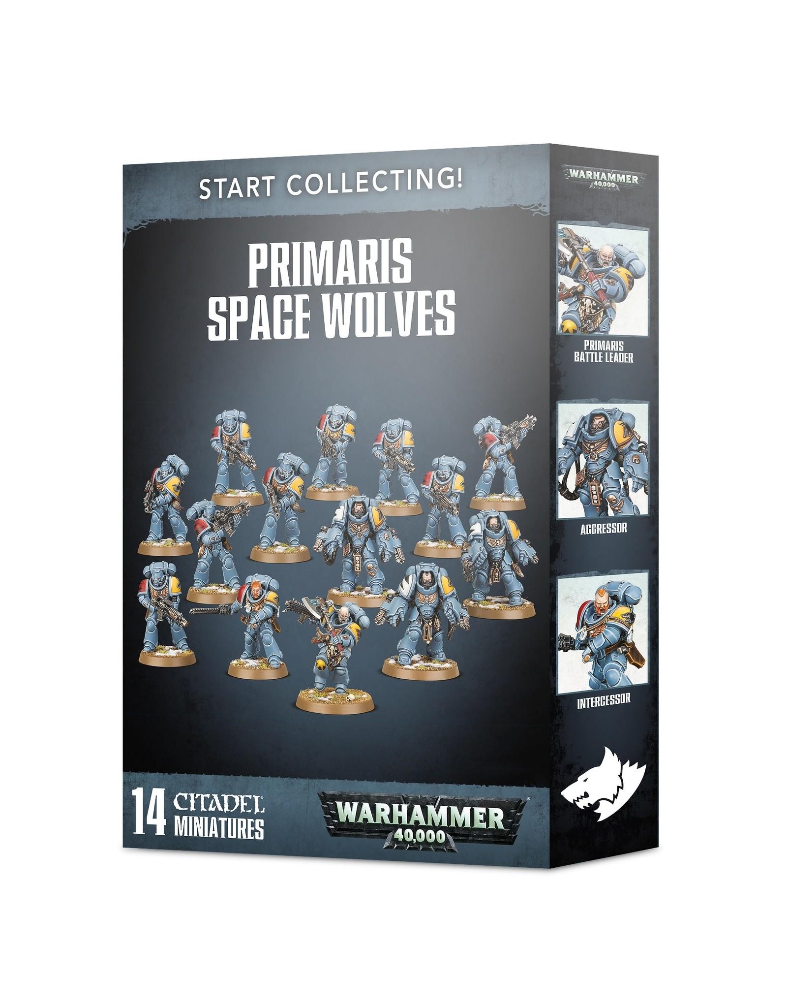 Games-Workshop Start Collecting! Primaris Space Wolves
