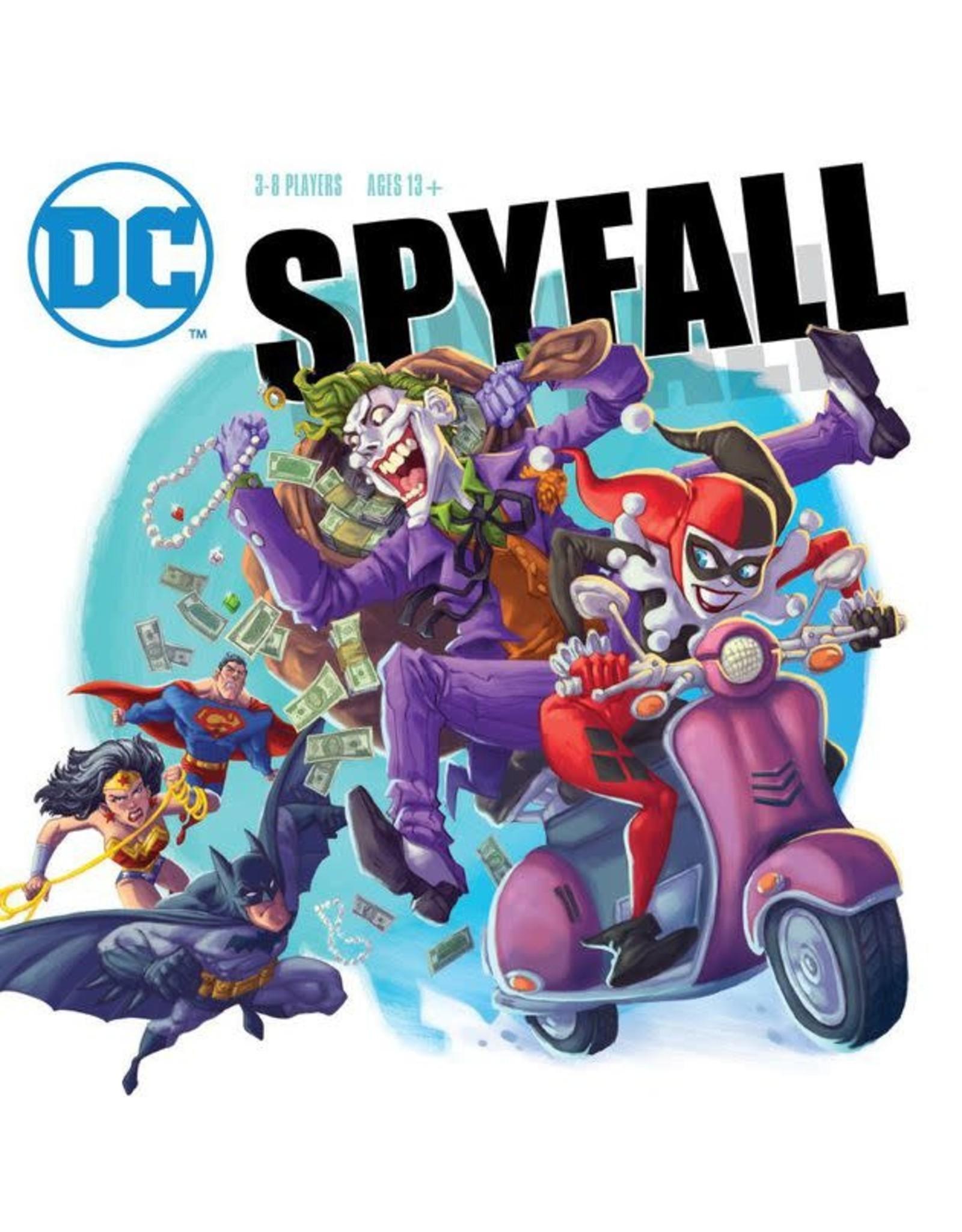 DC Comics Spyfall