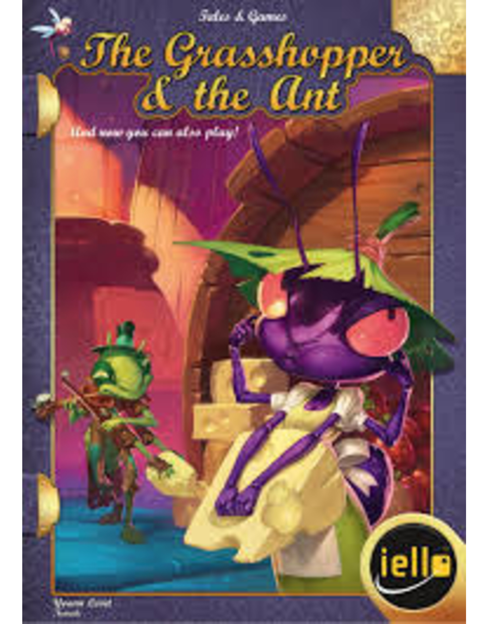 Tales & Games #4: The Grasshopper & the Ant