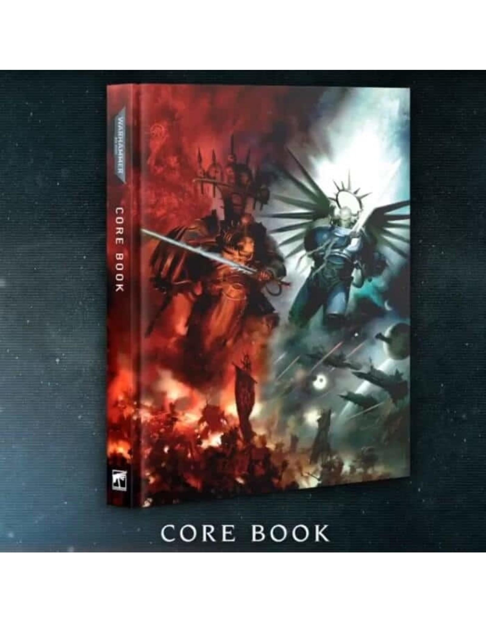 Games-Workshop WARHAMMER 40000: CORE Rule BOOK (ENGLISH) 9th