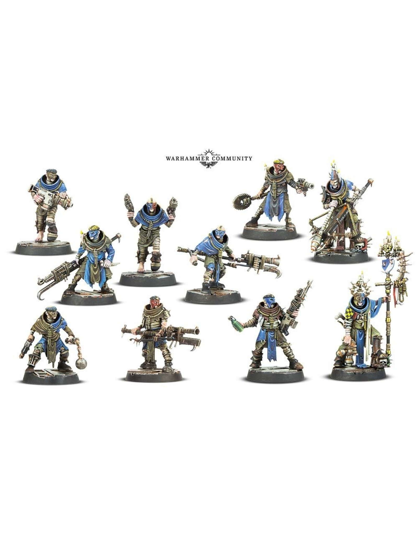 Games-Workshop NECROMUNDA : Cawdor Gang