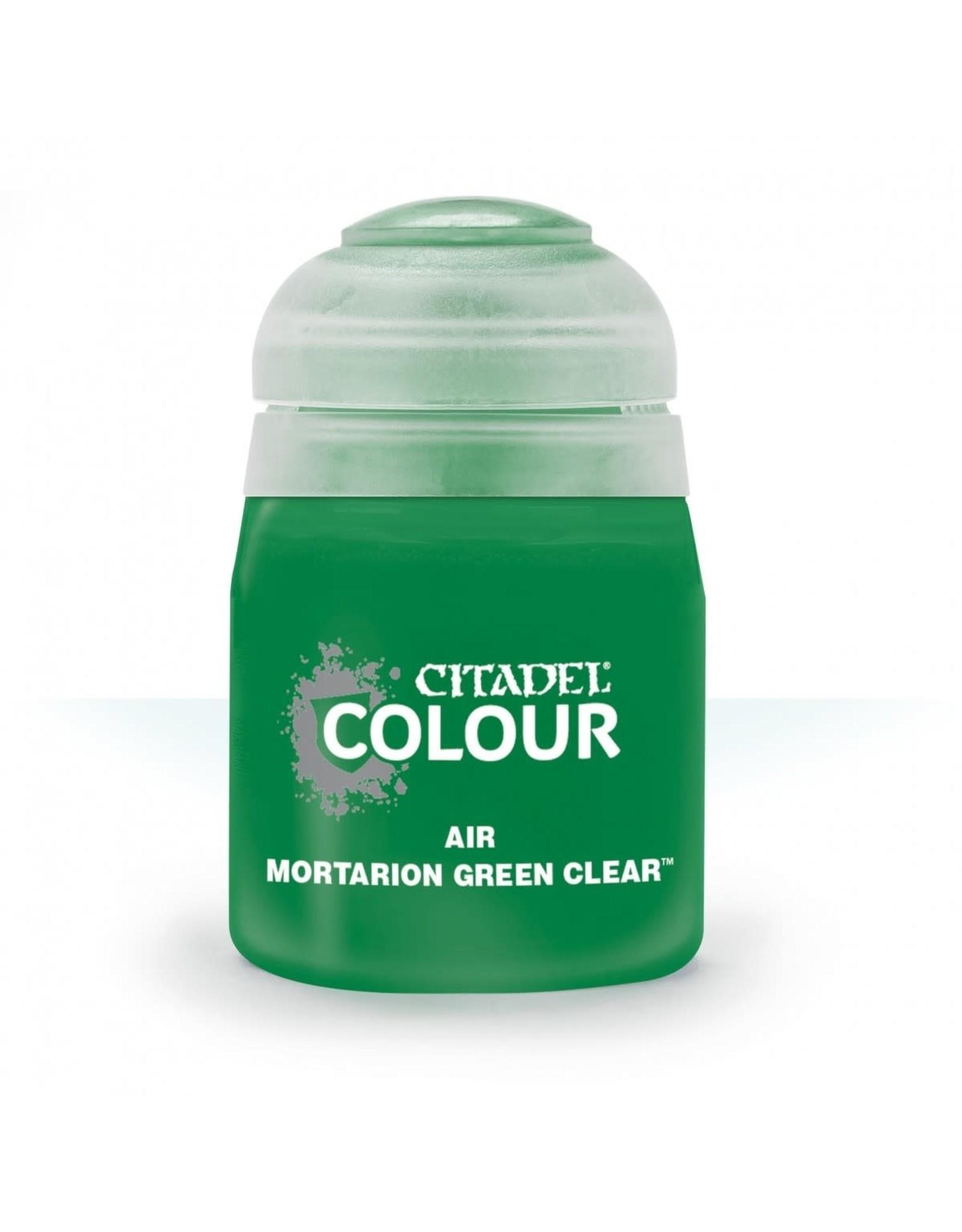 Games-Workshop Citadel Paint AIR: Mortarion Green Clear (24ML)