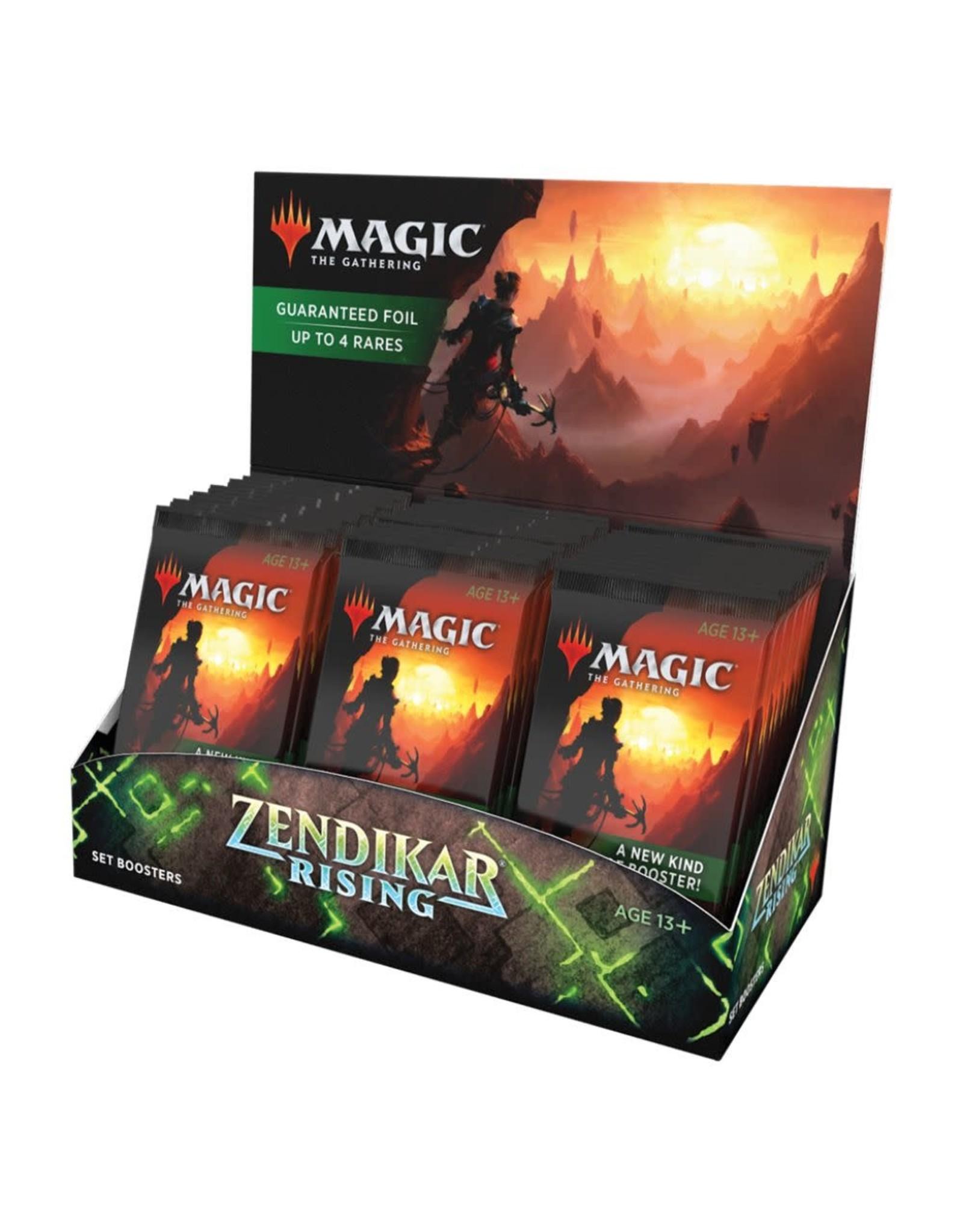 MTG Zendikar Rising Set Booster