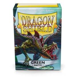 Dragon Shield Sleeves: MATTE Green (BOX OF 100)