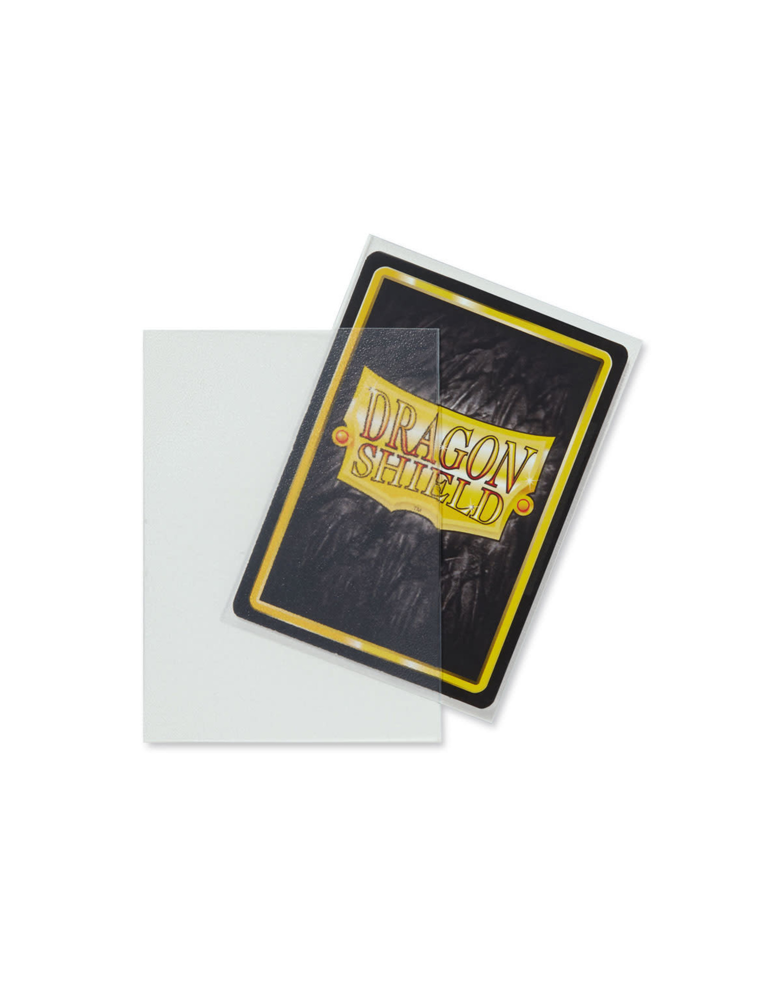 DRAGON SHIELD SLEEVES: MATTE Clear (BOX OF 100)
