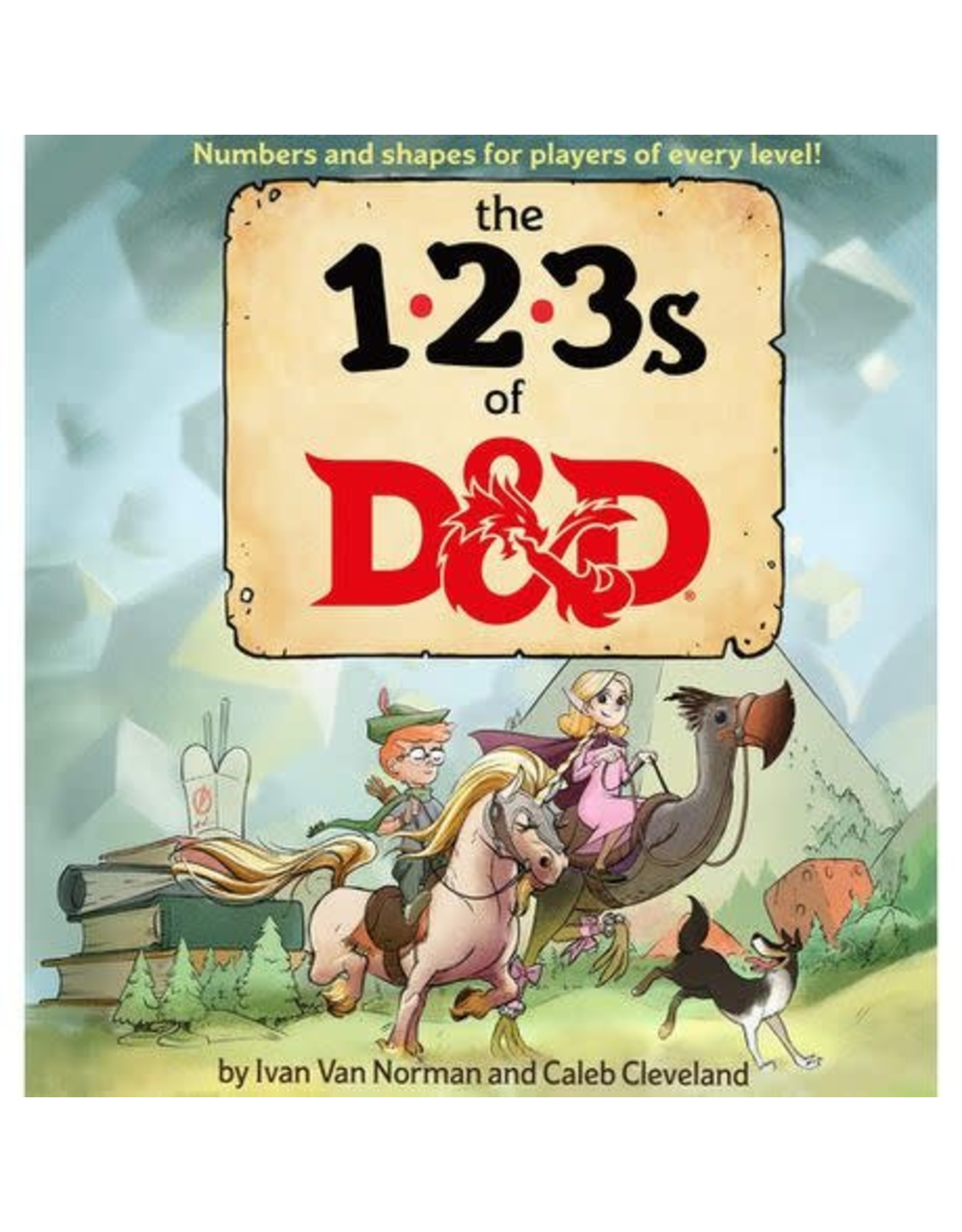 Wizards of the Coast 123's of D&D