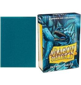Dragon Shield Mini Sleeves: Matte Petrol