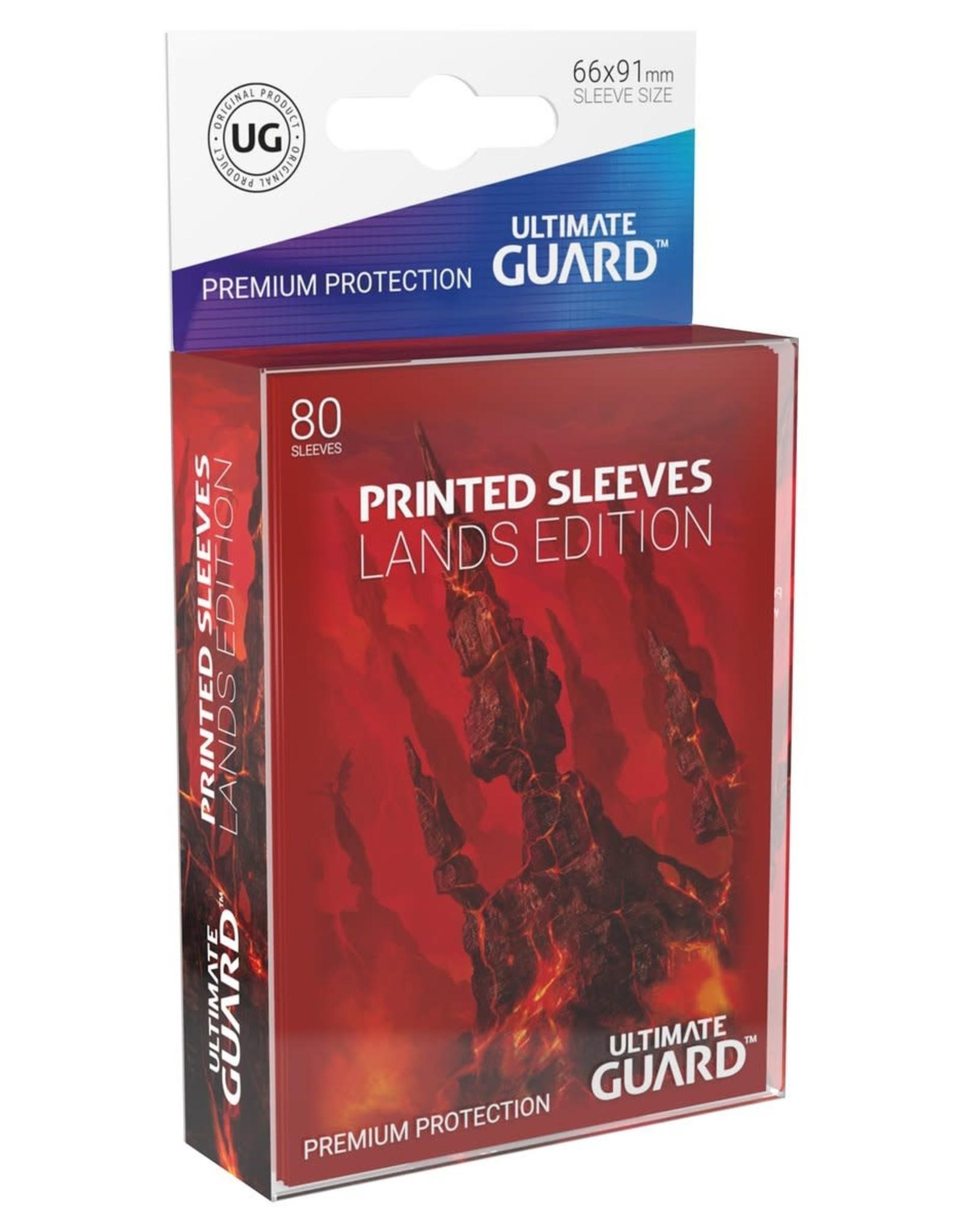 Ultimate Guard Printed Sleeves Std Lands Mountain