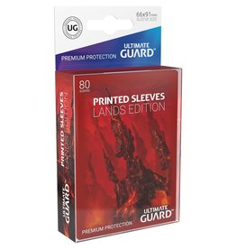 Ultimate Guard Printed Sleeves Std Lands Mountain