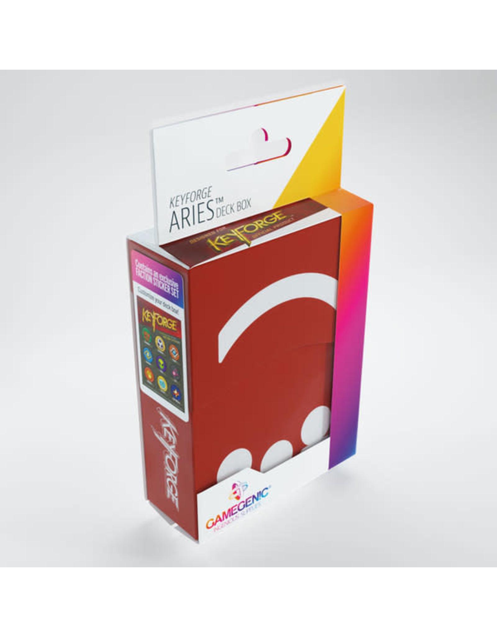 KeyForge: Aries Deck Box - Red