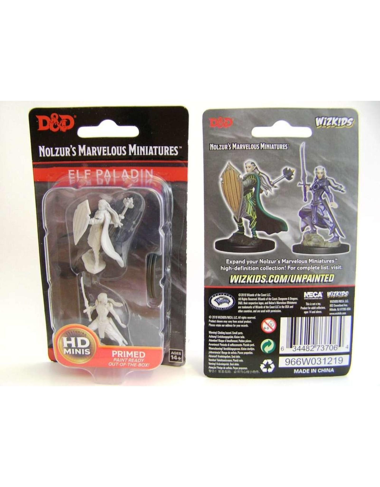 Wiz-Kids D&D Nolzur's Marvelous Miniatures - Female Elf Paladin