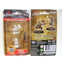 Wiz-Kids D&D Nolzur's Miniatures: Female Halfing Fighter