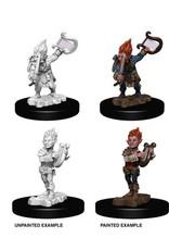Wiz-Kids Pathfinder Battles Unpainted Miniatures: Gnome Male Bard