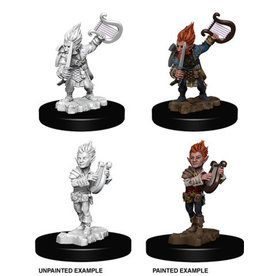 Wiz-Kids Pathfinder Battles Unpainted Miniatures: Gnome Male Bard