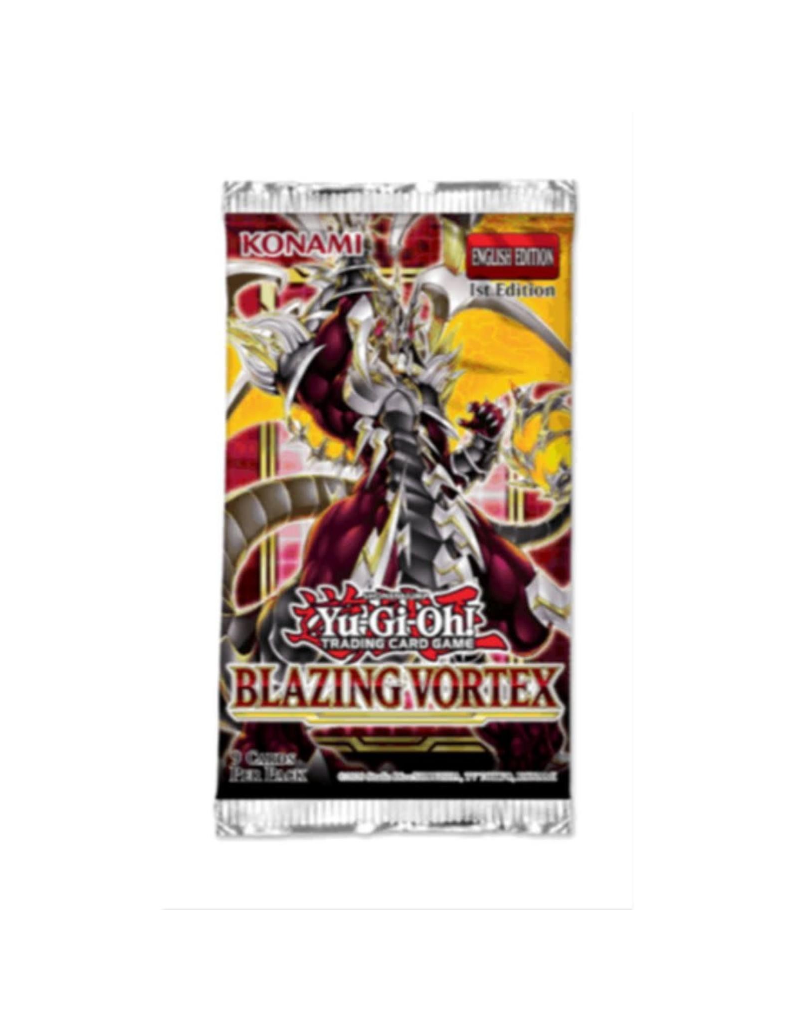 Konami YGO - Blazing Vortex Booster