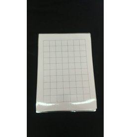 Unseen Shoppe Humble Hobby Grid Map A4