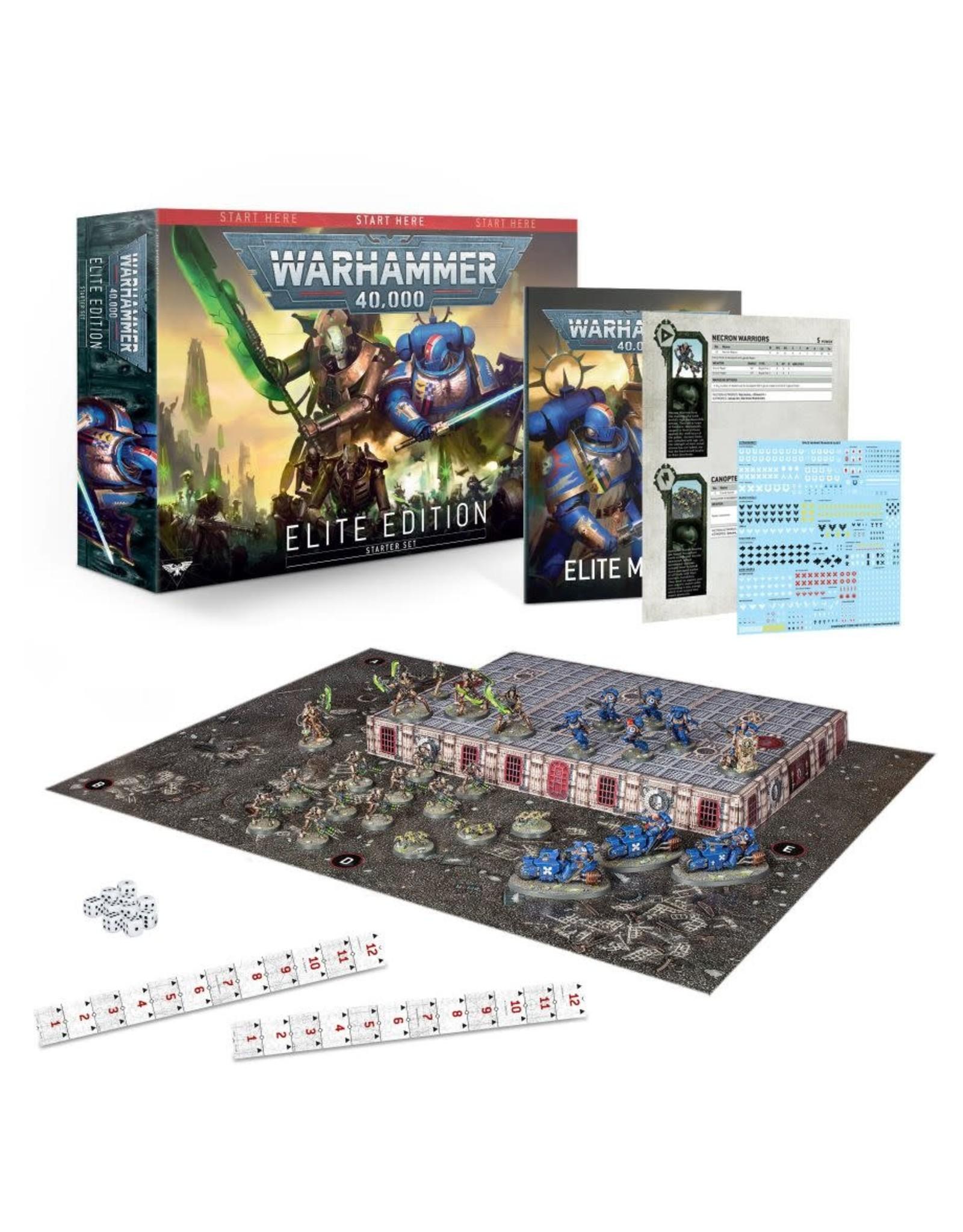 Games-Workshop WARHAMMER 40000 ELITE EDITION (ENGLISH)