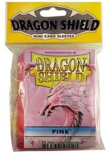 Dragon Shield Mini Sleeves - Pink (50 ct. in bag)