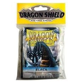 Dragon Shield Mini Sleeves - Black (50 ct. in bag)