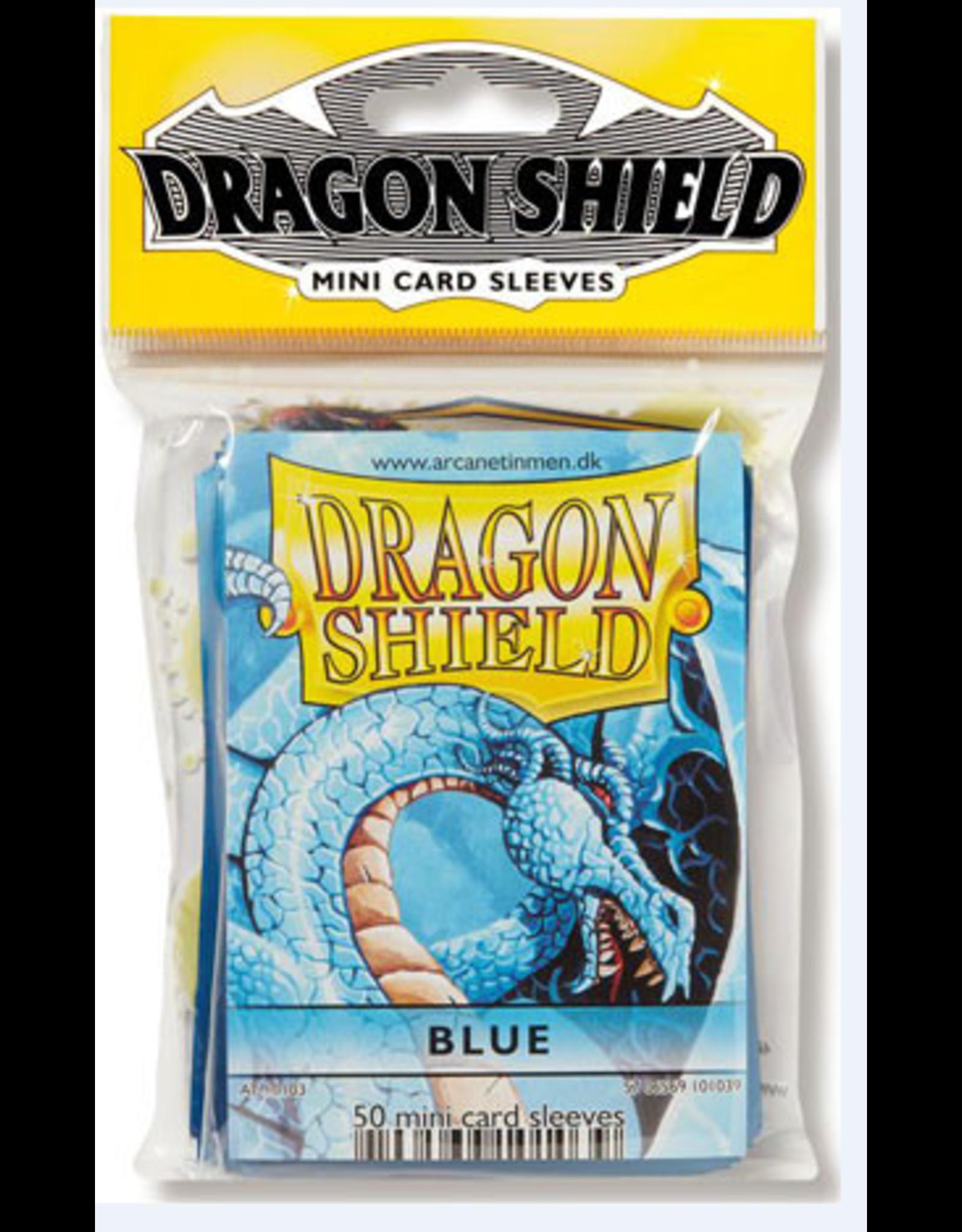 Dragon Shield Mini Sleeves - Blue (50 ct. in bag)