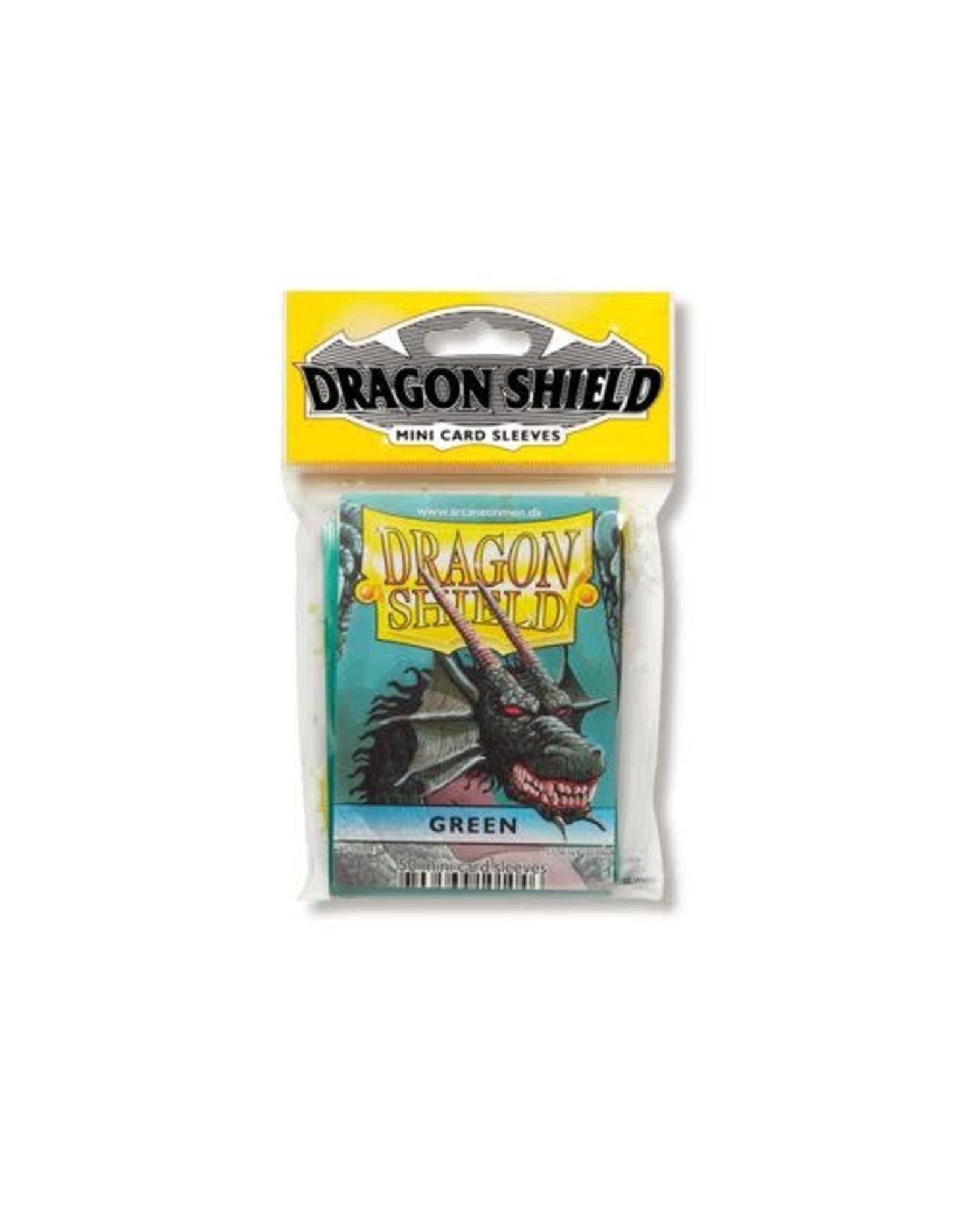 Dragon Shield Mini Sleeves - Green (50 ct. in bag)