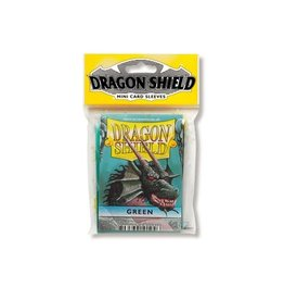 Dragon Shield Mini Sleeves - Green (50 ct. in bag)