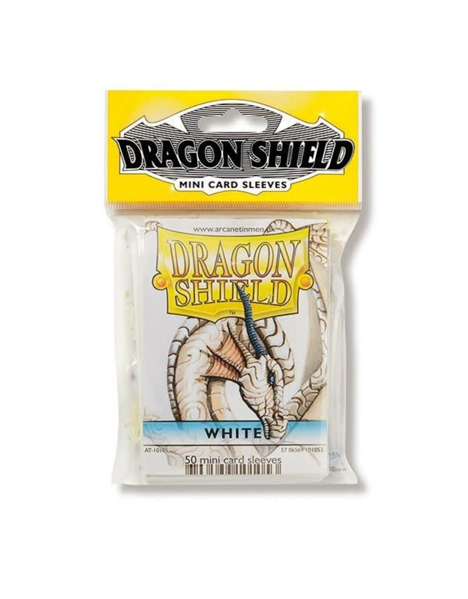 Dragon Shield Mini Sleeves - White (50 ct. in bag)